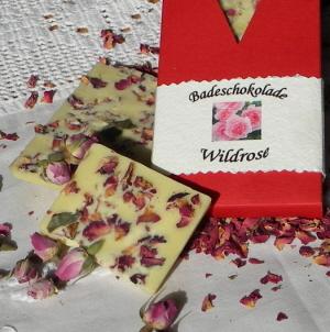 Badeschokolade Wildrose